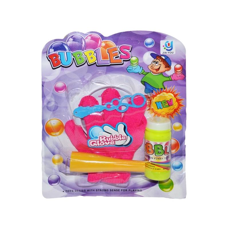 Baloane de sapun, set cu manusa