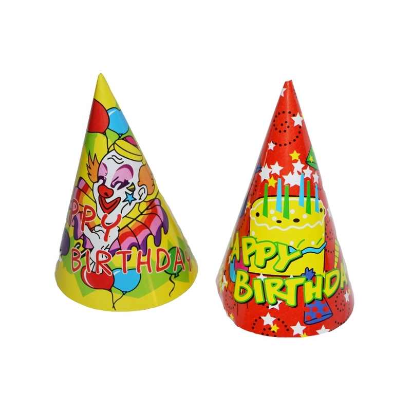 Coif carton party, 16 cm