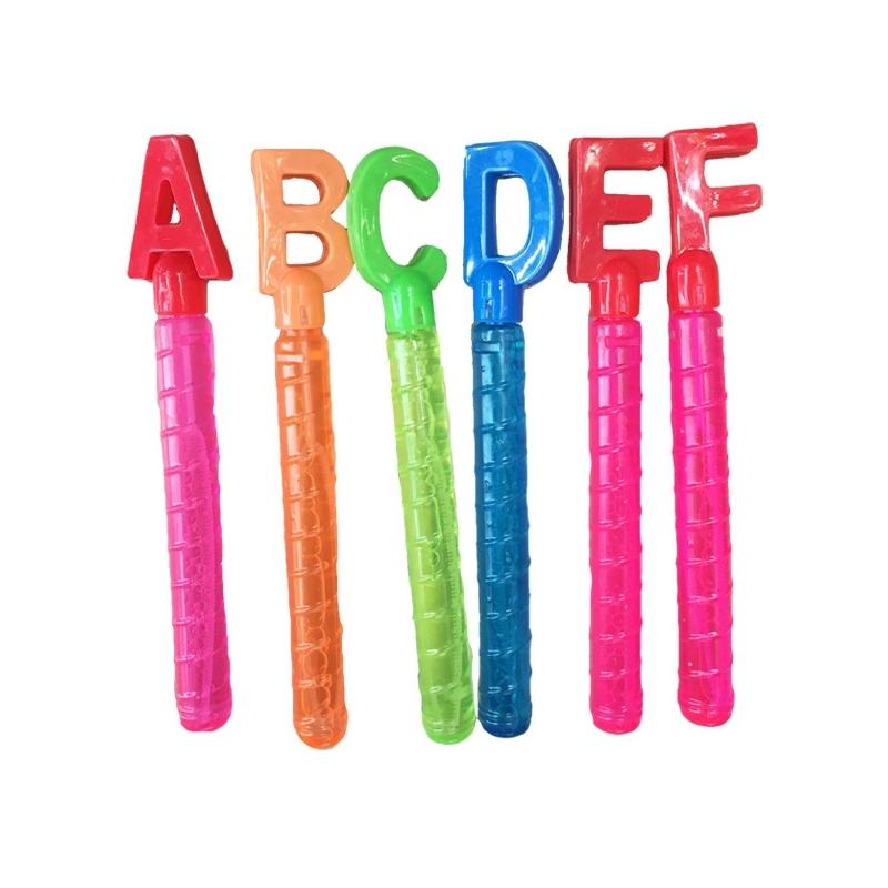 Baloane de sapun, Alfabet