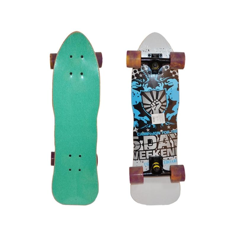 Placa skateboard profi, roti silicon, 70 cm