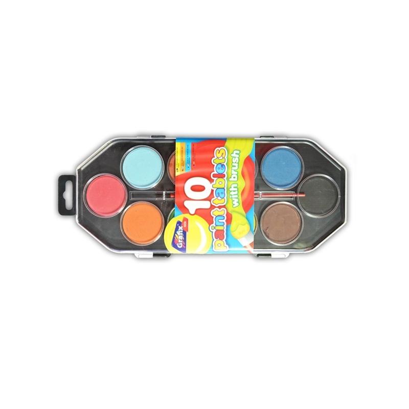 Acuarele 10 culori Jumbo