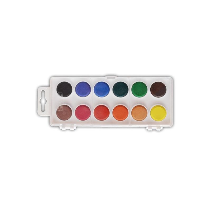 Acuarele 12 culori 22,5 mm - Koh-I-Noor