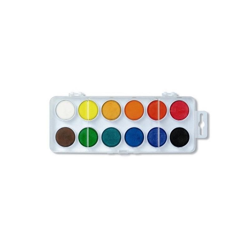 Acuarele 12 culori 30 mm - Koh-I-Noor