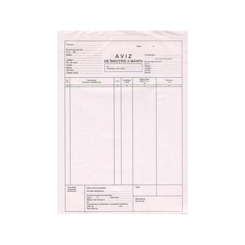 Aviz A4 150 file autocopiativ