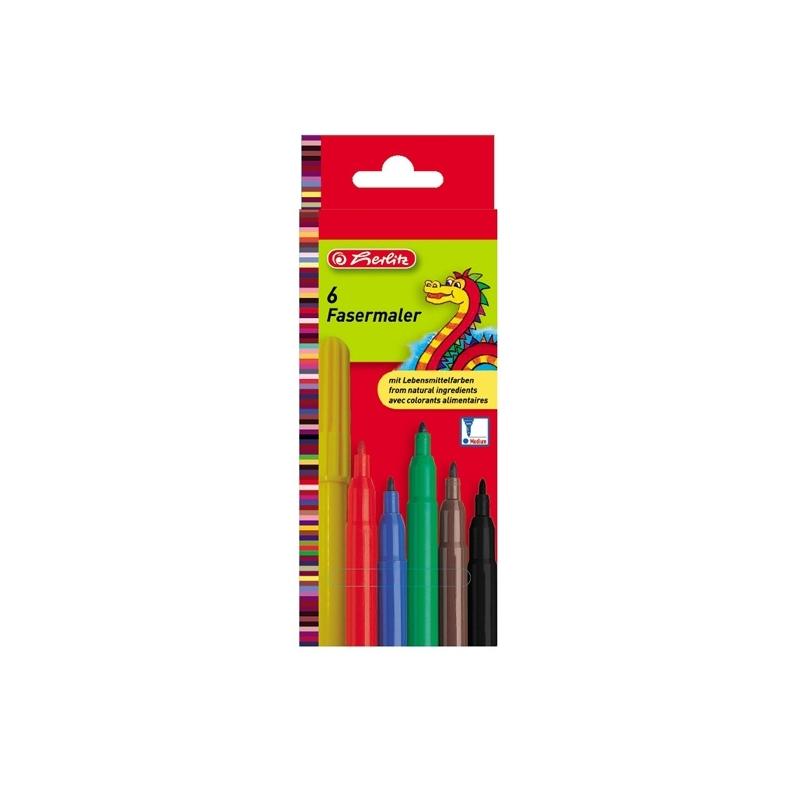 Carioca 2 mm set 6 bucati culori asortate