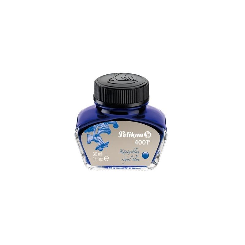 Cerneala 4001 la borcan 30 ml albastru royal corectabila