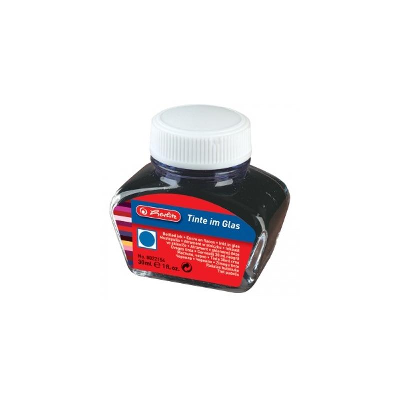 Cerneala albastra 30 ml herlitz
