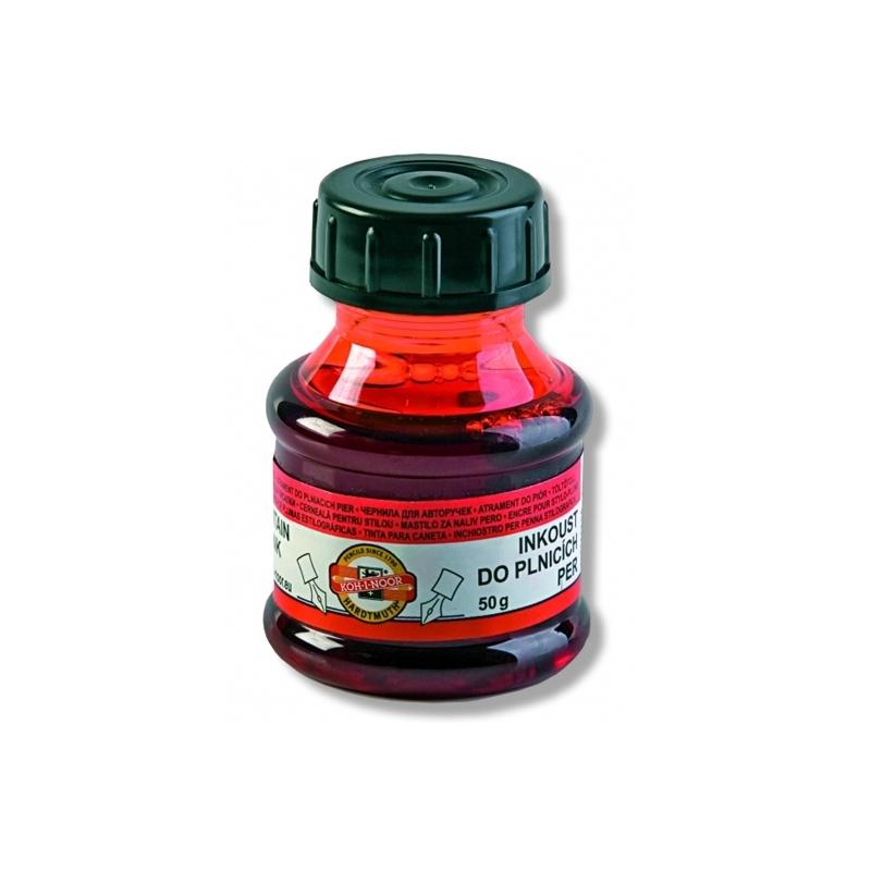 Cerneala rosie 50 ml - Koh-I-Noor