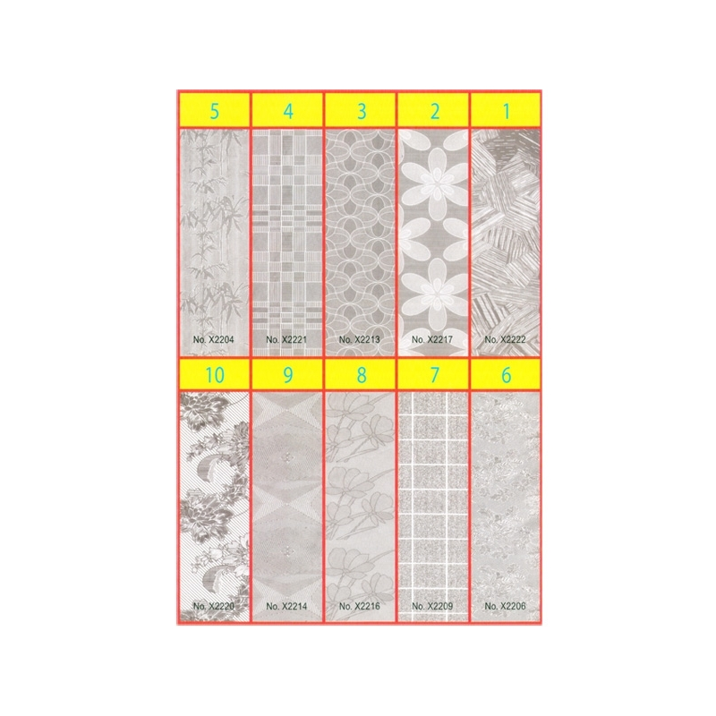 Coperta caiet A5 Autoadeziva 27x37 - Set 10
