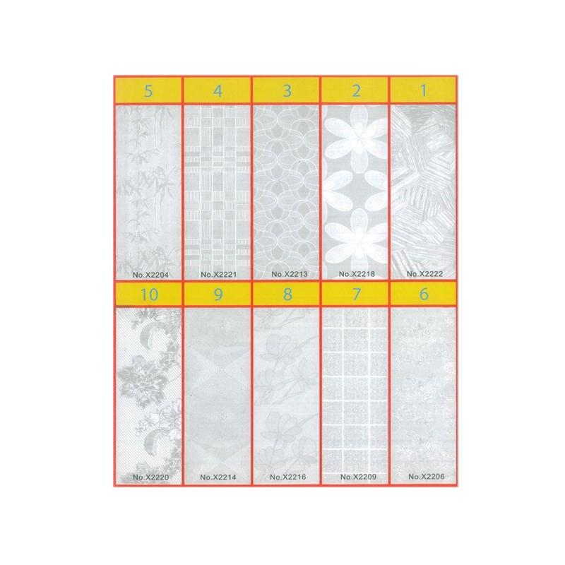 Coperta carte autoadeziva 50x30 - Set 10