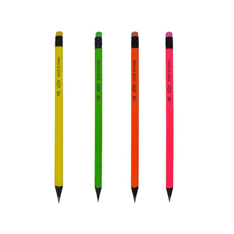 Creioane Neon Black Set 48 - NEBO
