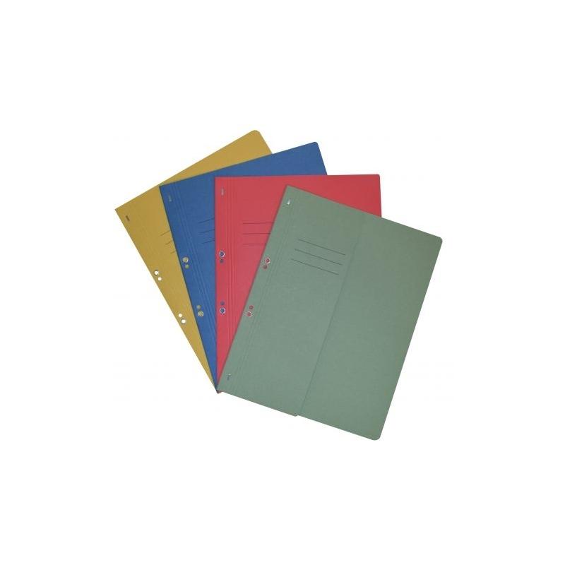 Dosar cu capse 1|2 color carton 250g 50|Set