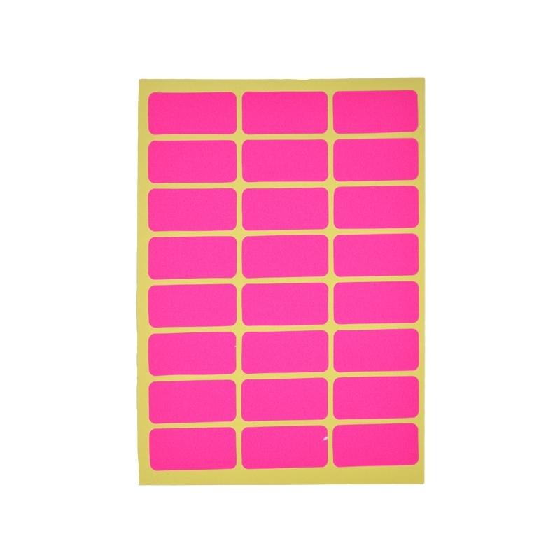 Etichete color 5x2,3 cm 24 etichete|coala 10 coli|set