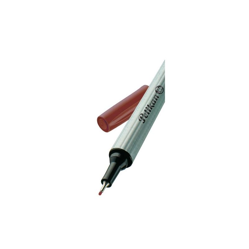Fineliner 96 maro varf 0,4mm Pelikan