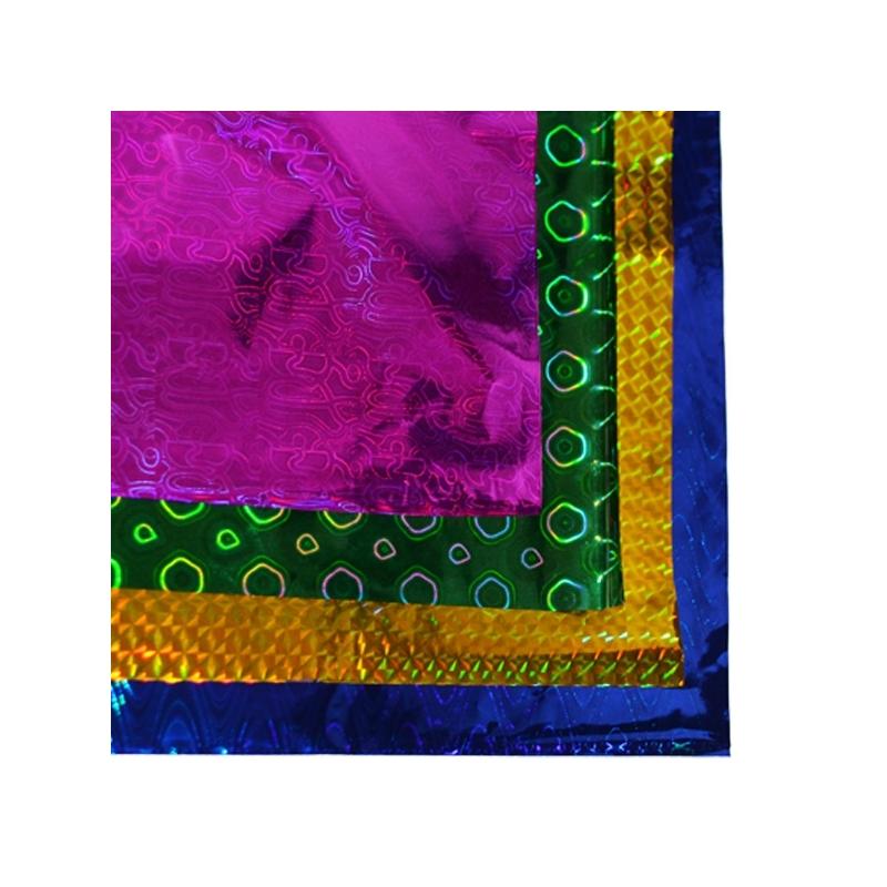 Hartie de impachetat metalizata 50x70 cm