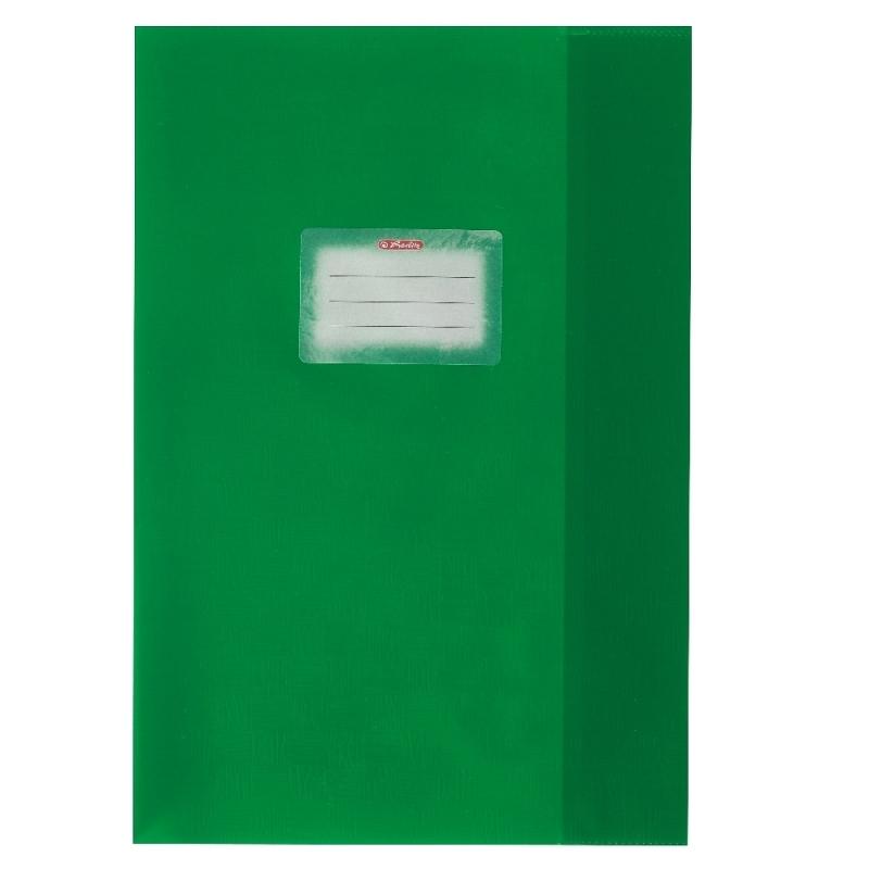 Coperta pp A4 verde Herlitz