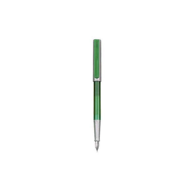 Stilou Basic verde|argintiu - vrac