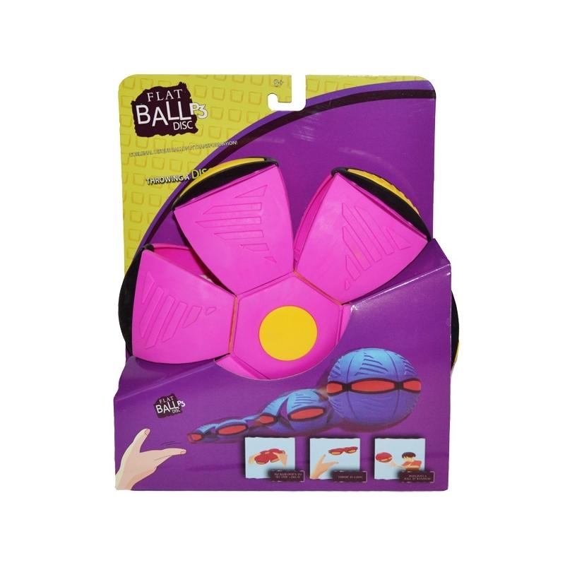 Minge Flat Ball, cu lumini