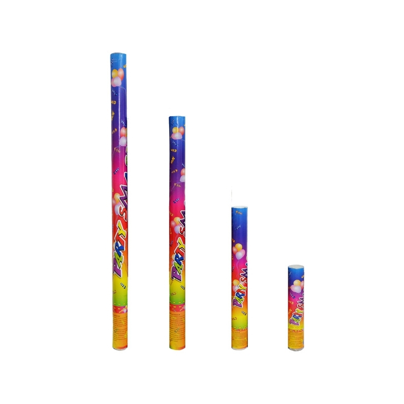Confetti color, tub cu presiune, 80 cm