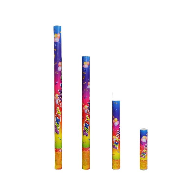 Confetti color, tub cu presiune, 30 cm