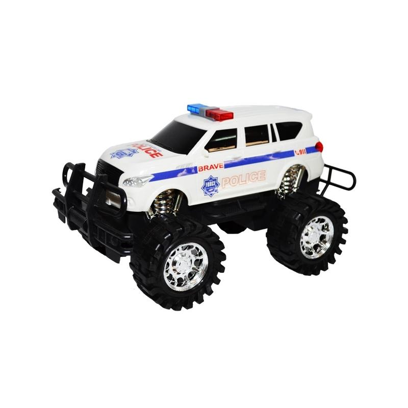 Jeep frictiune politie