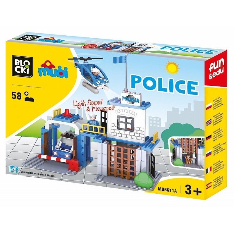 Blocki mubi, Statie politie, 58 piese
