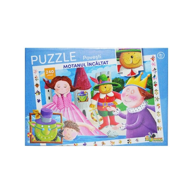 Puzzle 240 piese Colectia Povesti - Motanul Incaltat