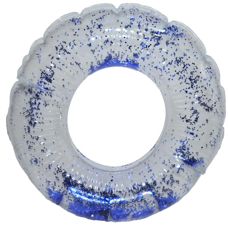 Colac baie gonflabil, 80 cm, cu sclipici