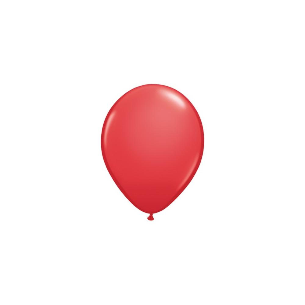 Baloane 2,5 g rosii, 12 buc/set