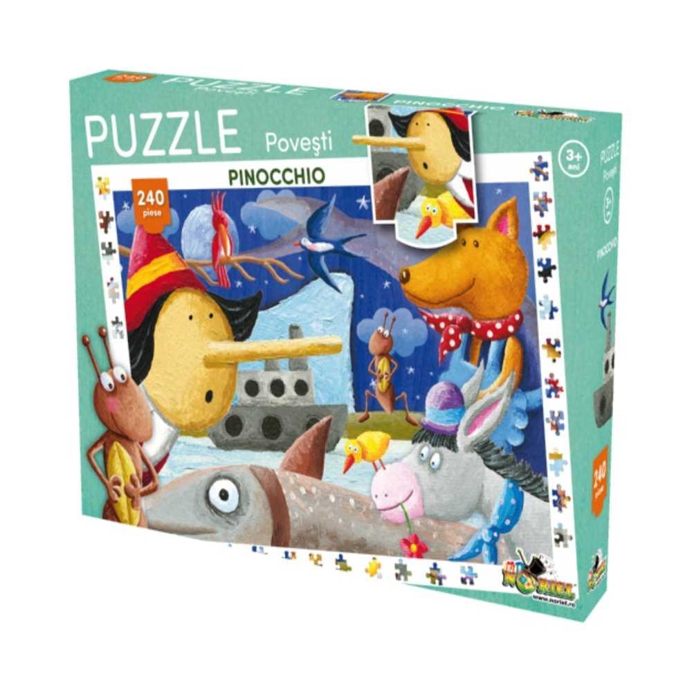 Puzzle 240 piese Pinocchio