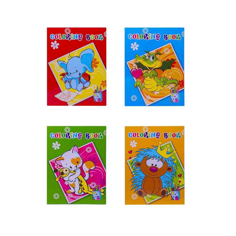 Caiet de colorat A4 40 file