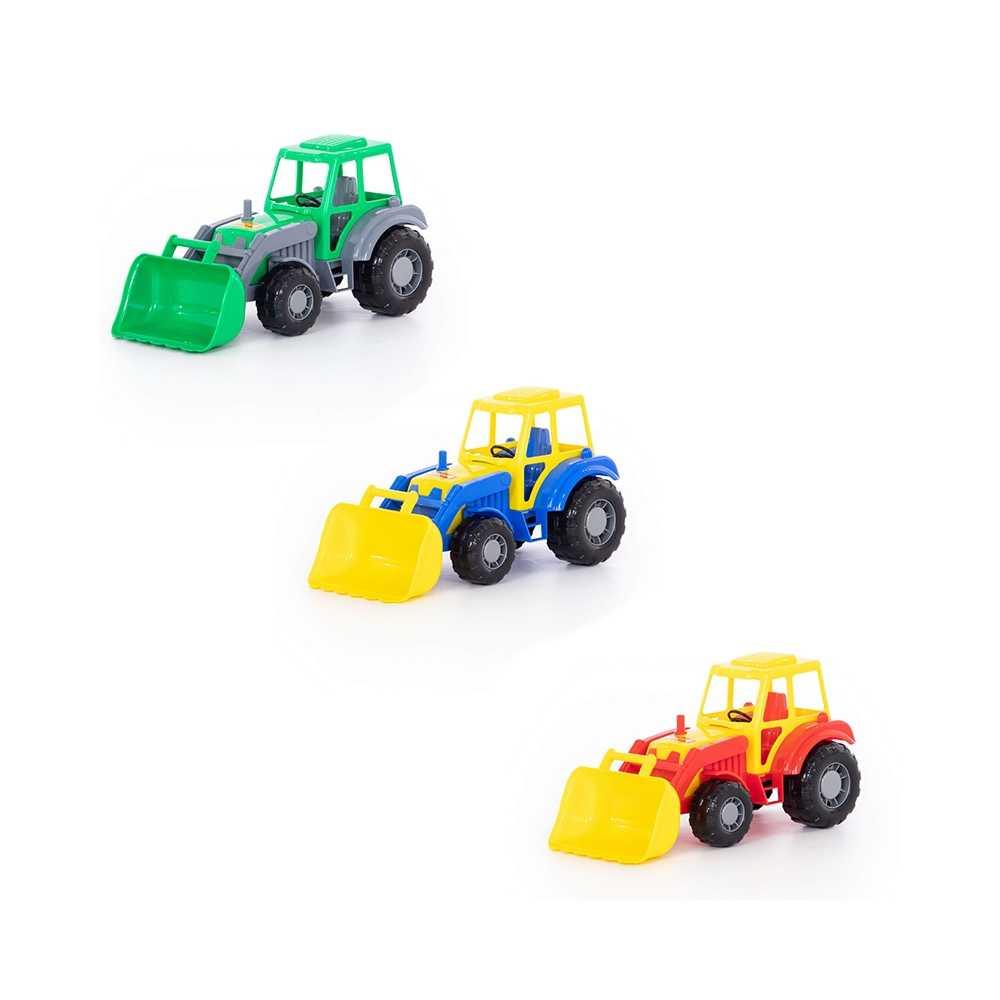Tractor cu incarcator - Altay, 36x17x18 cm, Polesie