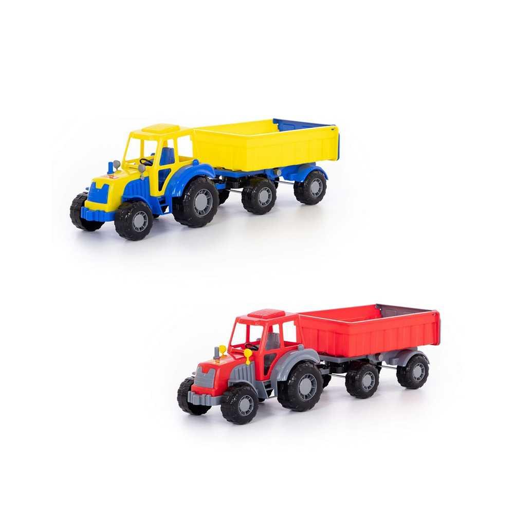 Tractor cu remorca - Altay, 59x17x18cm, Polesie