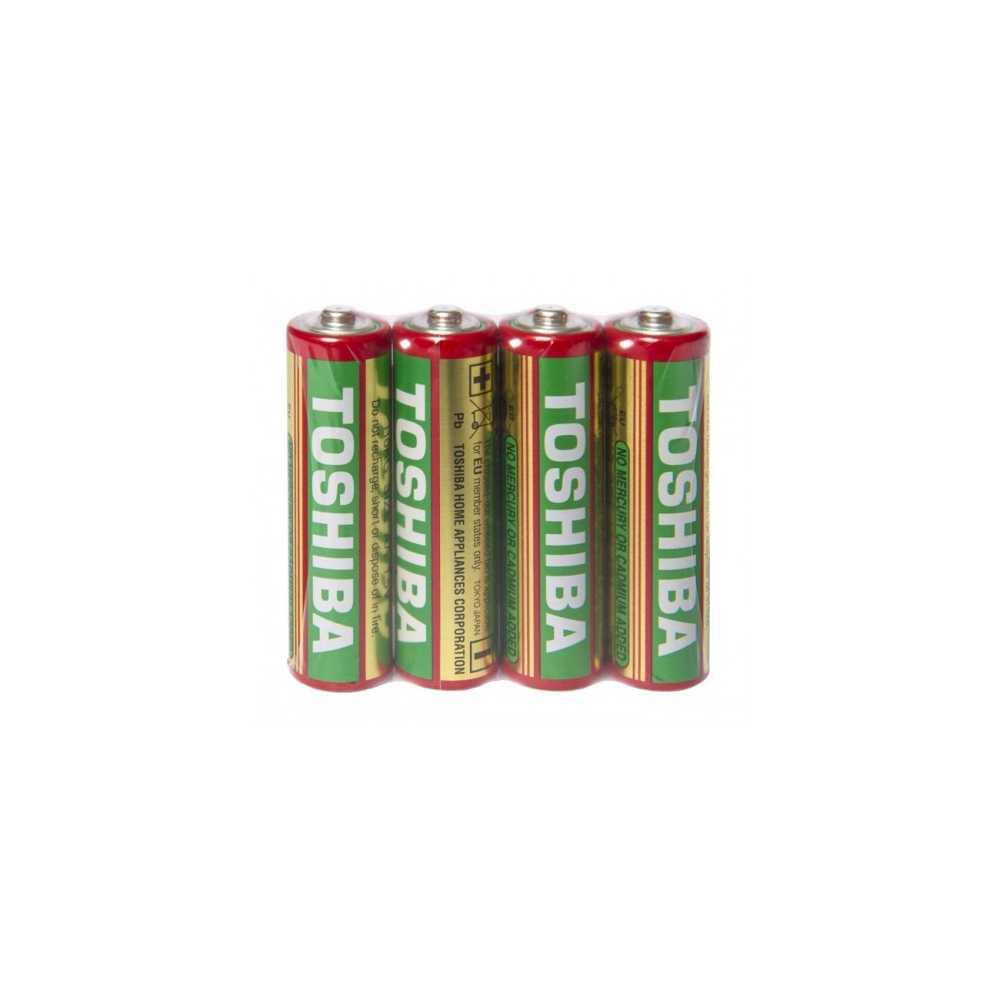 Baterii Toshiba R6, zinc