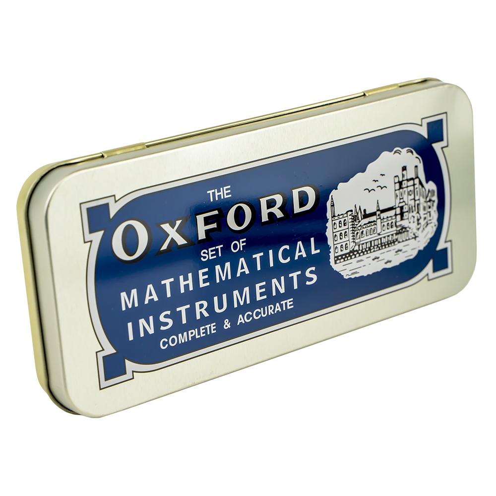 Trusa geometrie metalica 13 piese Oxford