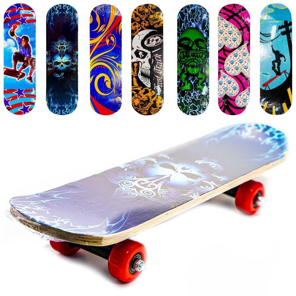 Placa skateboard din lemn, 40 cm