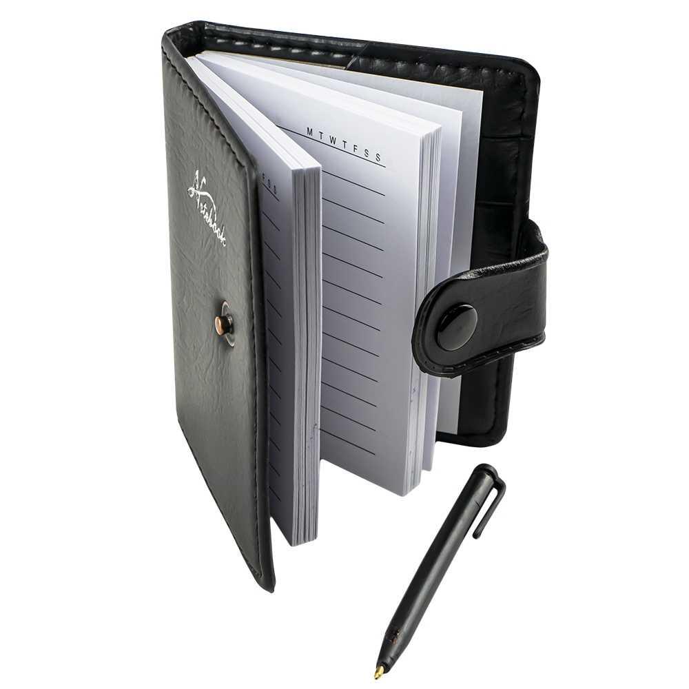 Agenda 11x8.5 cm, 100 file, cu pix